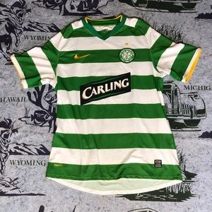 Nike Celtic F.C. Jersey Size Large Soccer